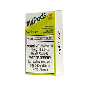 Z-PODS SOUR MOUTH
