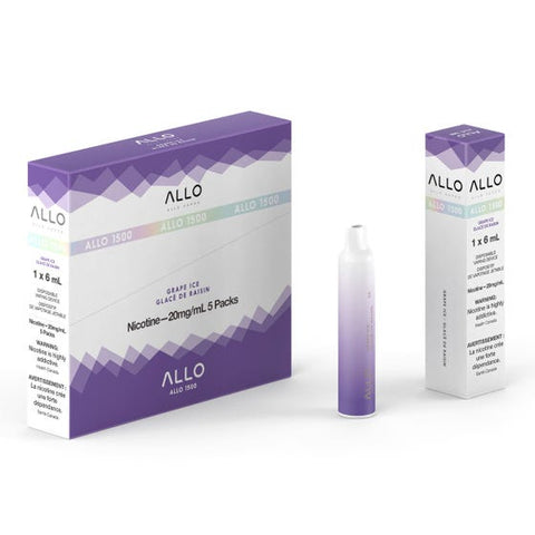 ALLO 1500  GRAPE ICE
