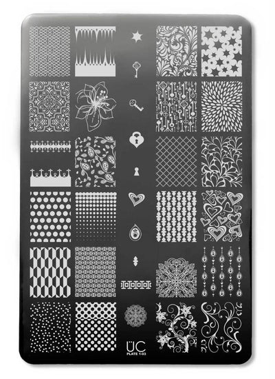 UberChic Collection 1 stamping plates