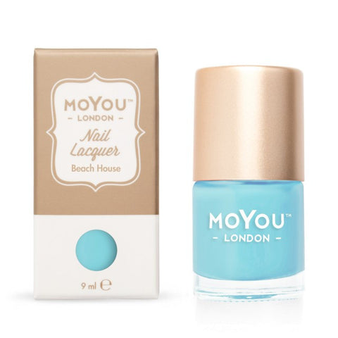 MoYou London Stamping Polish - Beach House