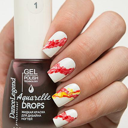Dance Legend - Aquarelle Drops - 01 Red