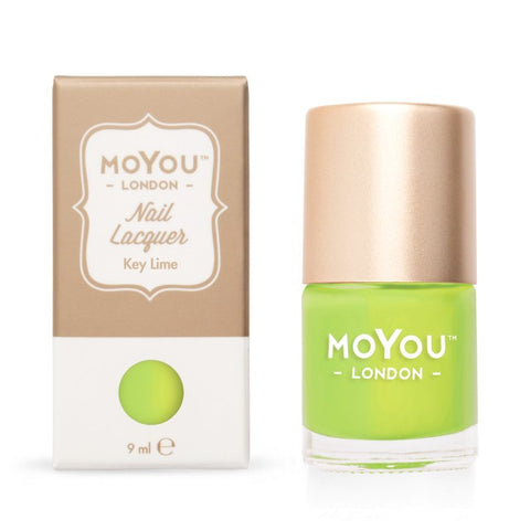 MoYou London Stamping Polish - Key Lime