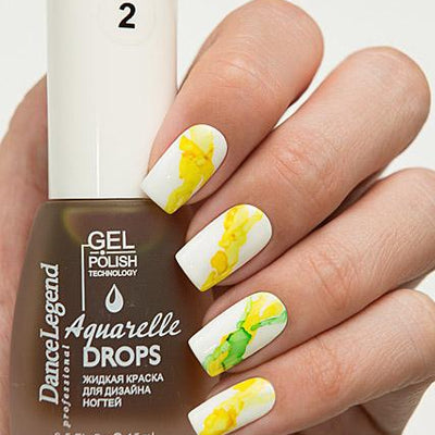 Dance Legend - Aquarelle Drops - 02 Yellow