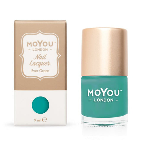 MoYou London Stamping Polish - Ever Green