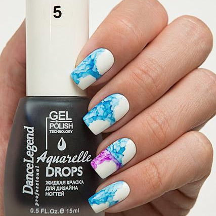 Dance Legend - Aquarelle Drops - 05 Blue