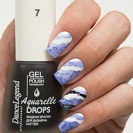 Dance Legend - Aquarelle Drops - 07 Deep Blue