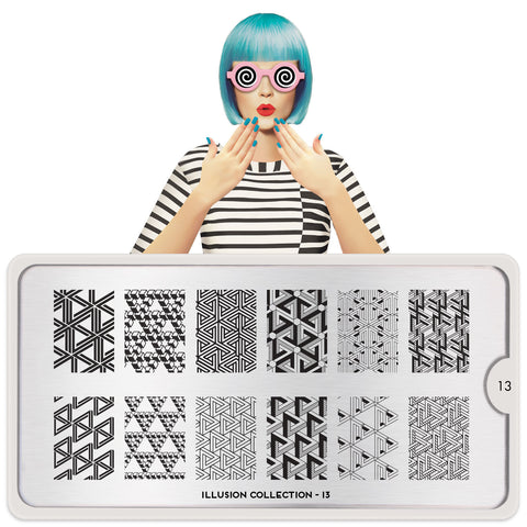 MoYou London Illusion 13 stamping plate