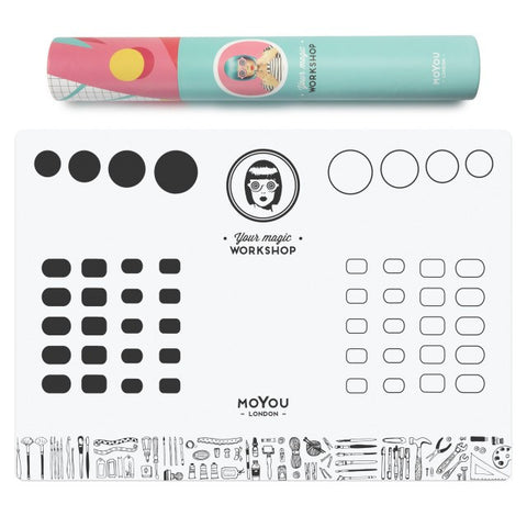 MoYou London - Your Magic Workshop - stamping and nail art mat