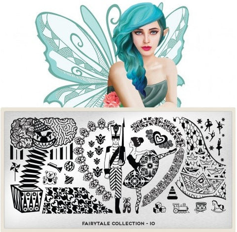 MoYou London Fairytale 10 stamping plate