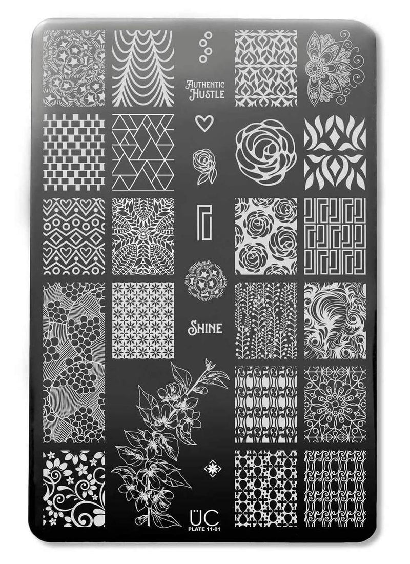 UberChic Collection 11 stamping plates