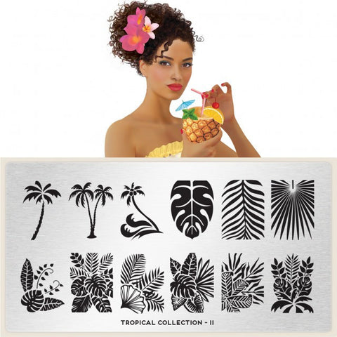 MoYou London Tropical 11 stamping plate