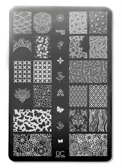 UberChic Collection 12 stamping plates