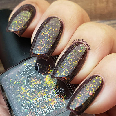 Quixotic Polish - Purple Ash