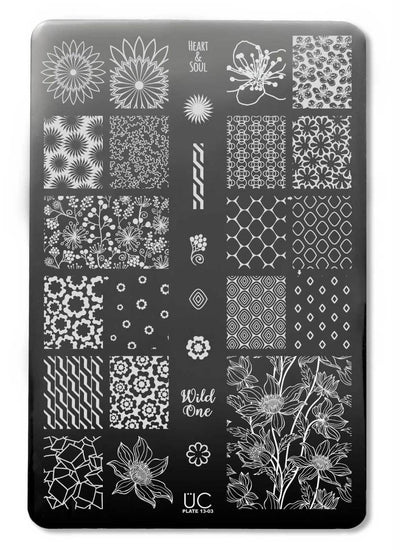 UberChic Collection 13 stamping plates