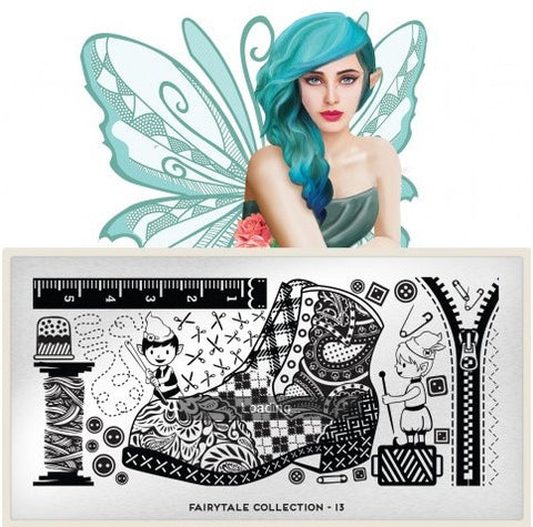 MoYou London Fairytale 13 stamping plate