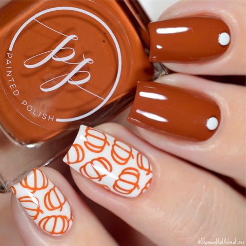 Painted Polish - Stamped in Sweet Potato