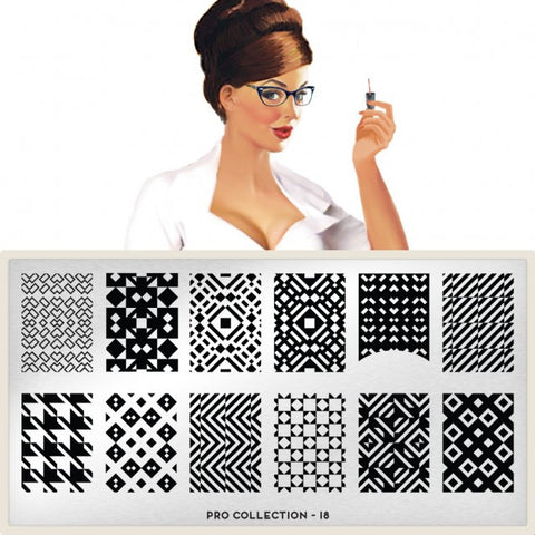 MoYou London Pro XL 18 stamping plate