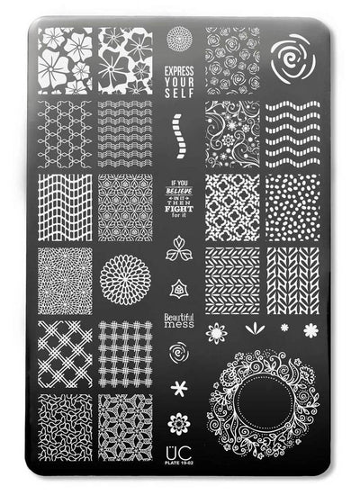 UberChic Collection 19 stamping plates