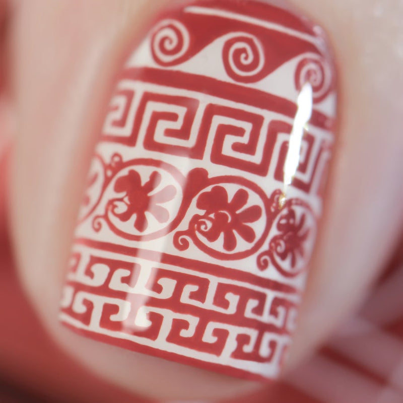 *PRE-SALE* Painted Polish - Stamped in Terra Cotta (LE)