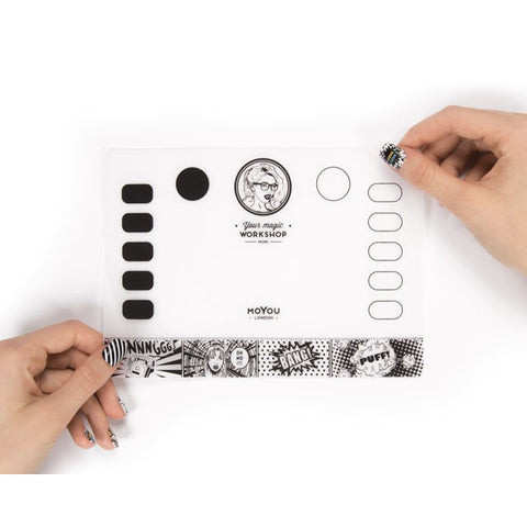 MoYou London - Your Magic Workshop Mini (without tube) - stamping and nail art mat