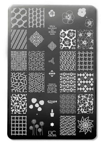 UberChic Collection 20 stamping plates