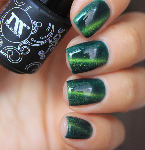 Masura - Gel Polish - 296-69 Emerald Galaxy