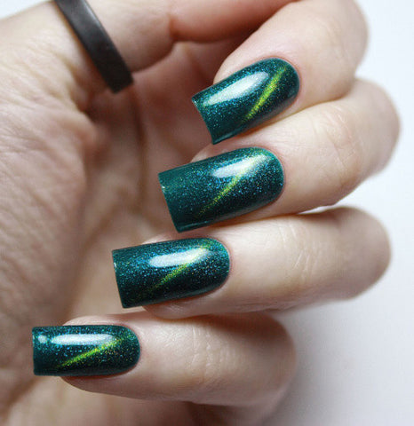 Masura - Gel Polish - 296-97 Teal Galaxy