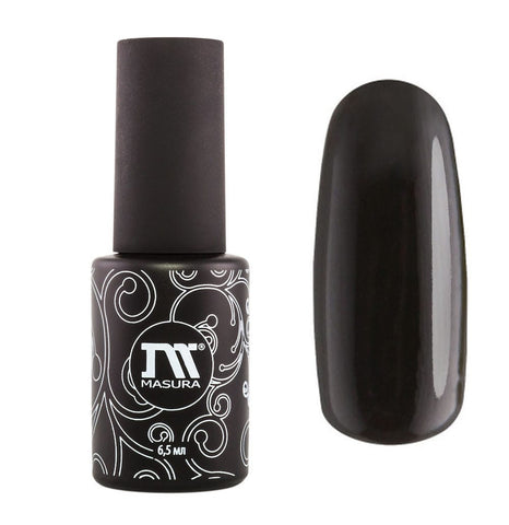 Masura - Gel Polish - 298-06 Black Rubber