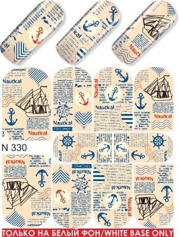 MILV water decals - N 330