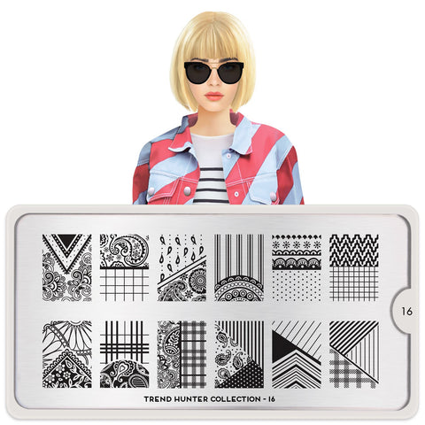 MoYou London Trend Hunter 16 stamping plate