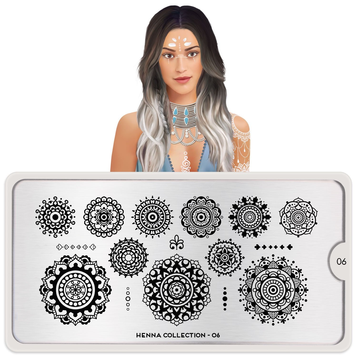 MoYou London Henna 06 stamping plate