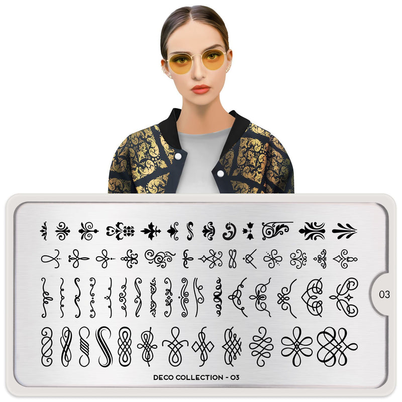 MoYou London Deco 03 stamping plate