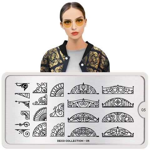MoYou London Deco 05 stamping plate
