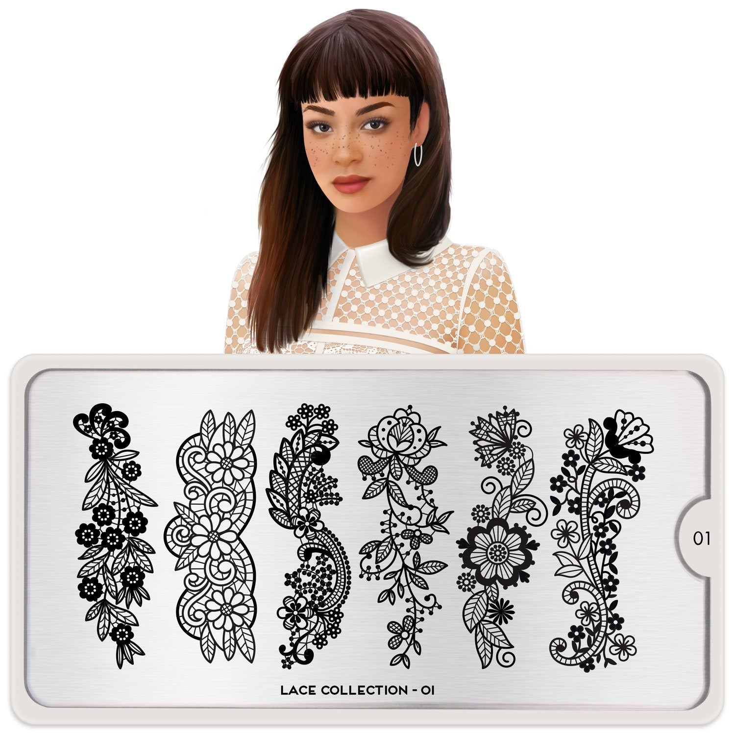 MoYou London Lace 01 stamping plate