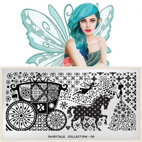 MoYou London Fairytale 05 stamping plate