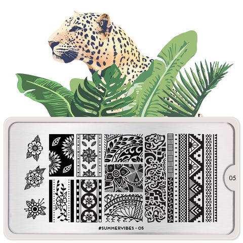 MoYou London #Summervibes 05 stamping plate