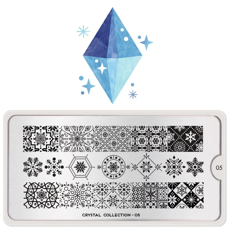 MoYou London Crystal 05 stamping plate