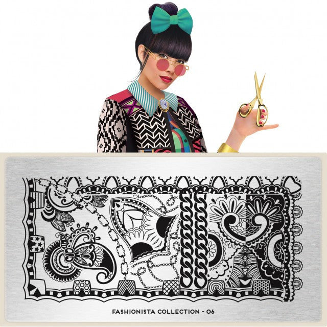 MoYou London Fashionista 06 stamping plate