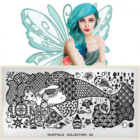 MoYou London Fairytale 06 stamping plate
