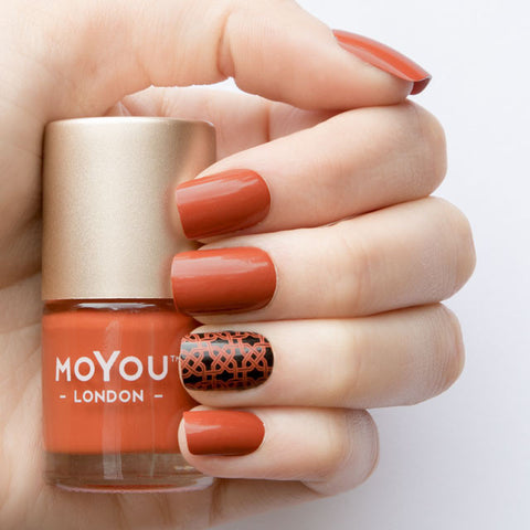 MoYou London Stamping Polish - Mesa Sunrise
