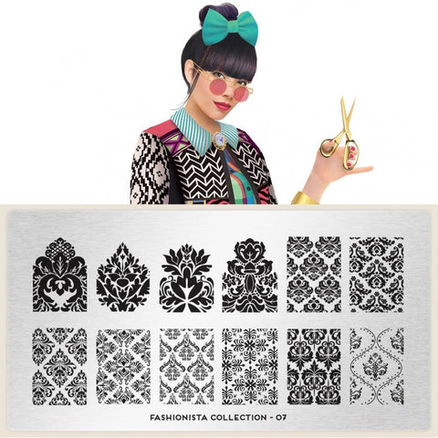 MoYou London Fashionista 07 stamping plate