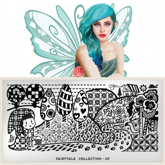 MoYou London Fairytale 07 stamping plate