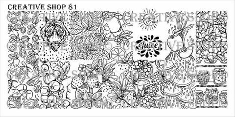 Creative Shop 81 stamping plate