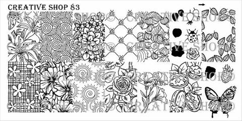 Creative Shop 83 stamping plate