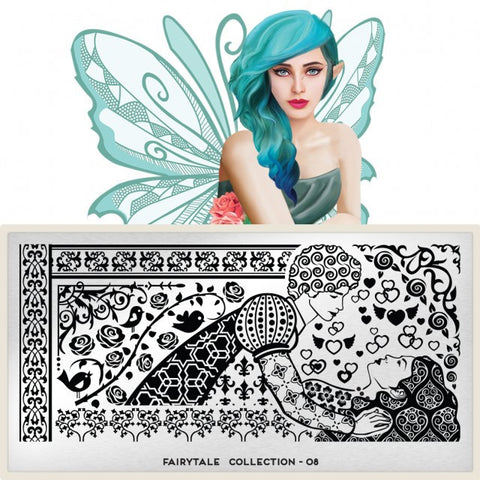 MoYou London Fairytale 08 stamping plate