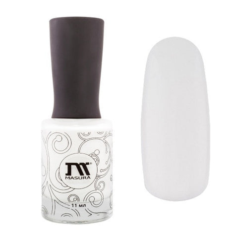 Masura - Precious Stones - 904-108 White Quartz (White base coat)