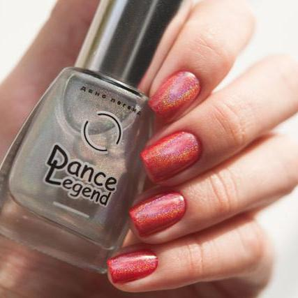 Dance Legend - Top Prismatic - holographic top coat
