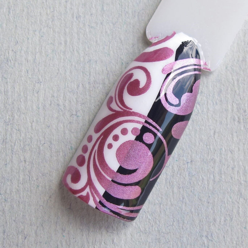 Hit The Bottle stamping polish - Chrome is where the Tart is (9ml)