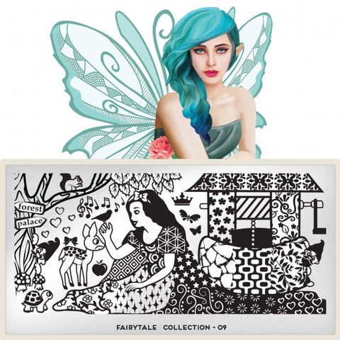 MoYou London Fairytale 09 stamping plate