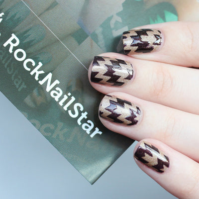 RockNailStar vinyl stencils and stickers - Thorns